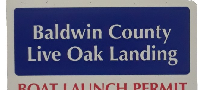 Live Oak Landing Annual Boat Launch Permit Now Available