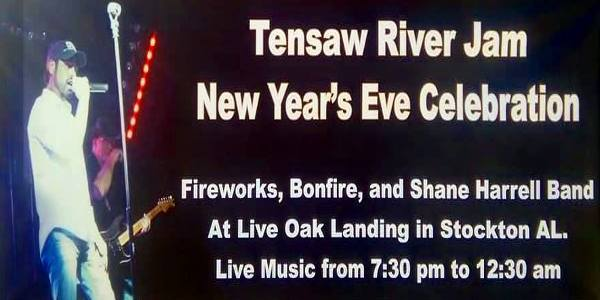 Tensaw River Jam NYE 2018 Celebration