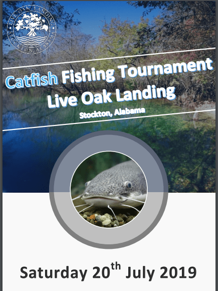2019 Live Oak Landing Catfish Tournament