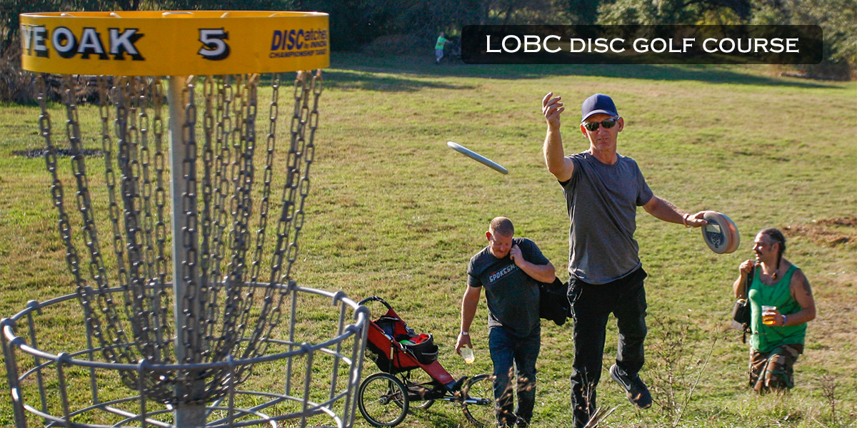 Live Oak Brewing Company Disc Golf Course