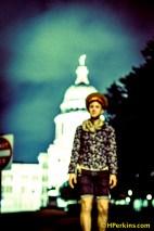 Texas State Capitol Blur