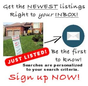 Get Exclusive Emails with the Newest Listings. See them BEFORE they hit MLS®!