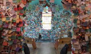 Wall of Remembrance inside the Dog Chapel