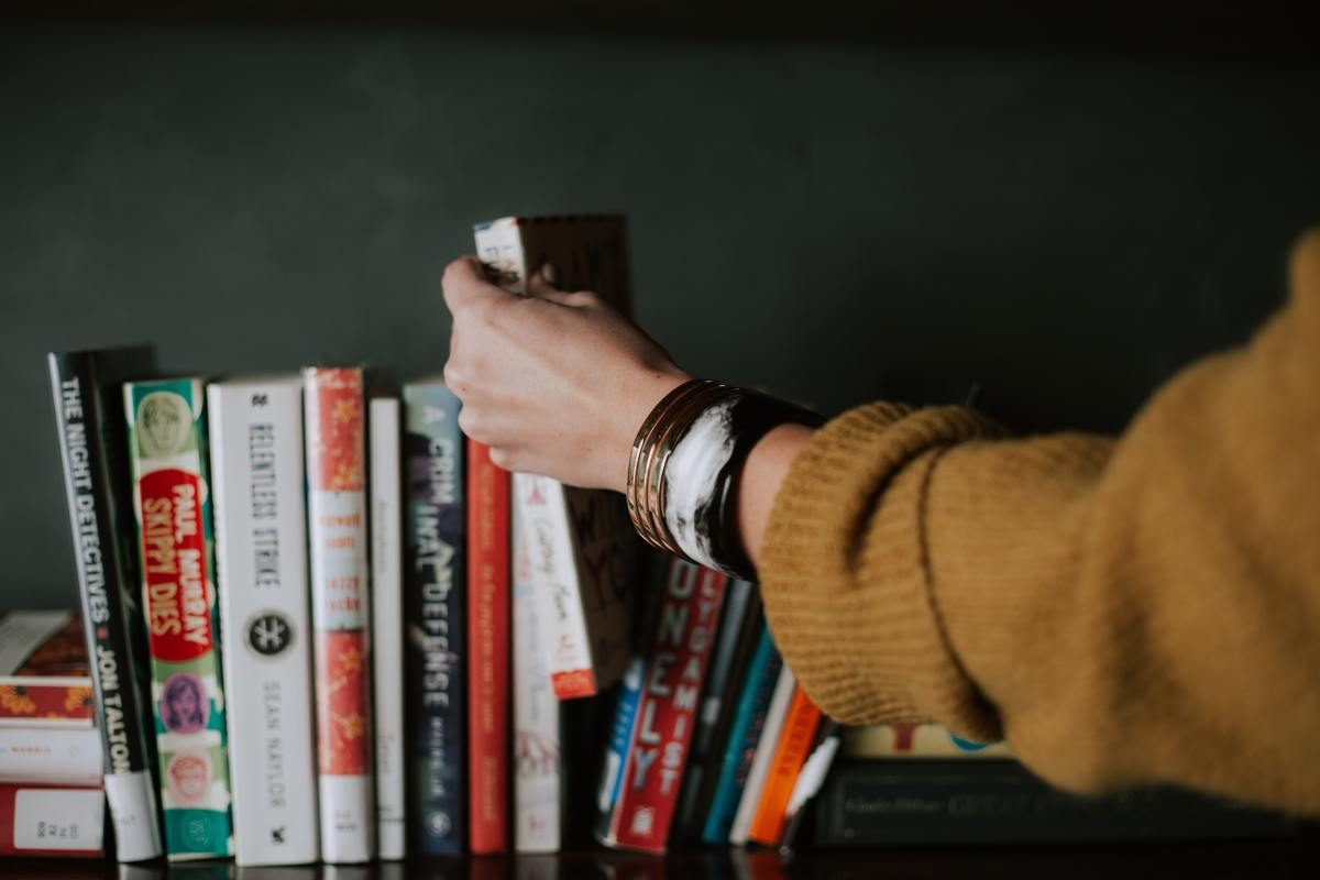What makes you buy a book? Ideas from a reader's point of view.