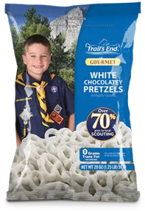 White Chocolatey Pretzels