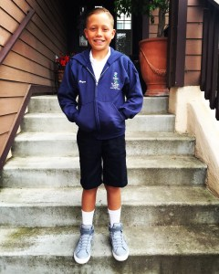 Jack's first day of fourth grade.
