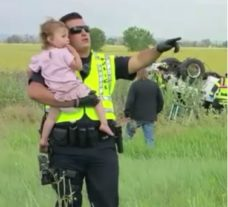 Police Officer Sings Lullaby