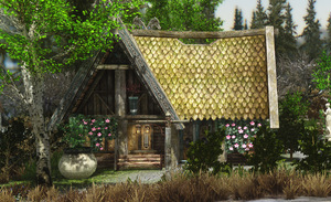 วิธีการสร้างบ้านใน Skyrim