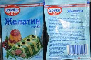 Как приготовить желатин в домашних условиях