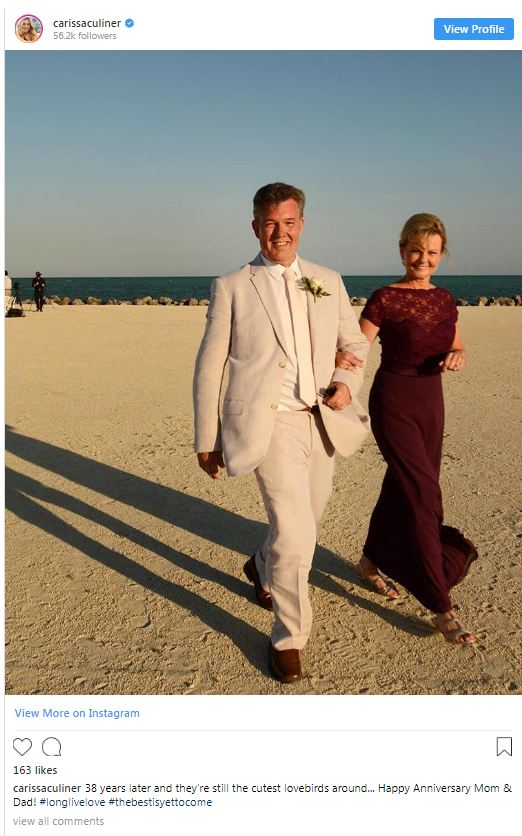 Carissa Culiner Parenting With Husband A Wedding That Started It All