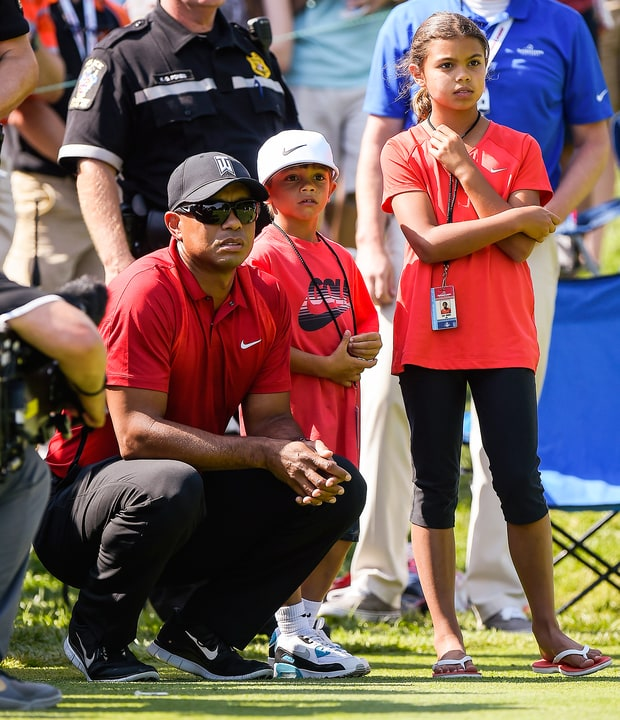 photos of tiger woods children 2019 age
