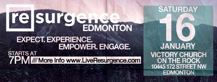 Resurgence Edmonton January 16 2016