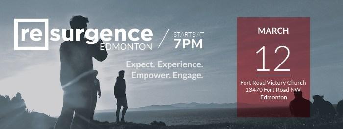 Resurgence Edmonton March 12 2016