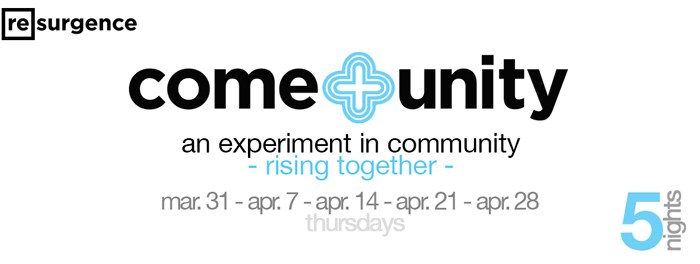 Resurgence Come+Unity March - April 2016