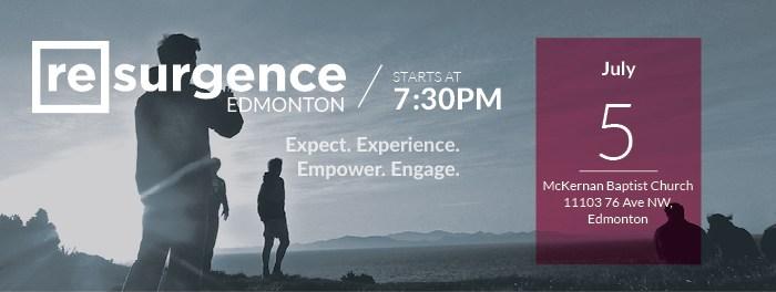 Resurgence Edmonton July 5 2016
