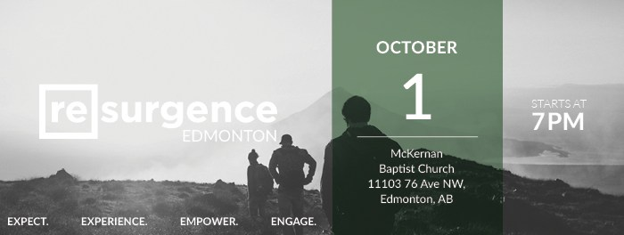 Resurgence Edmonton October 2016