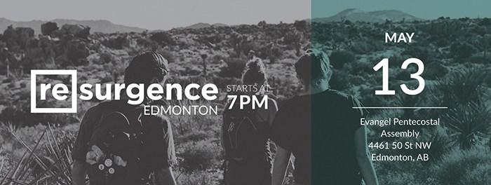 Resurgence Edmonton May 13 2017