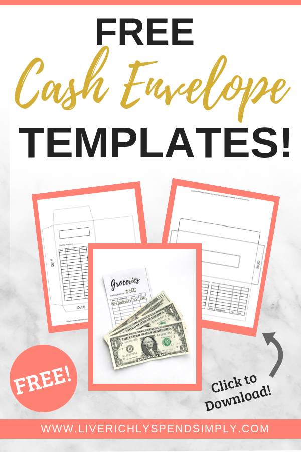 picture about Free Envelope Printable known as How towards Preserve Income Working with Money Envelopes + [Totally free Printable