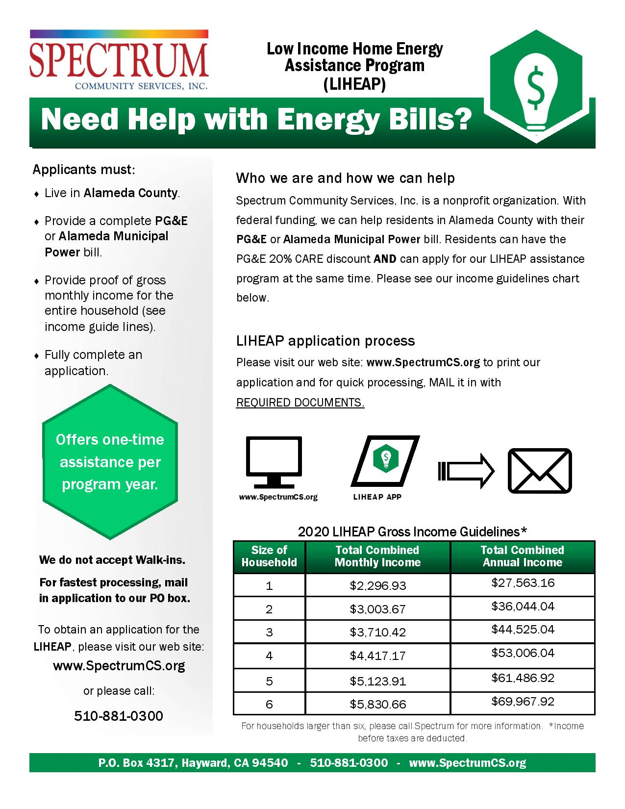 Low Income Energy Assistance Program