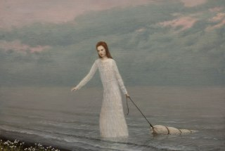 Aaron-Wiesenfeld_The-Lake_67x90-cm-framed-size_50x74-cm_unframed_Oil-on-canvas_mounted-on-panel2
