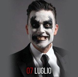 Robbie Williams il 7 luglio 2015 a Roma all'Ippodromo delle Capanelle per Rock in Roma 2015