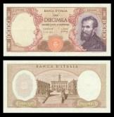 10.000 lire Michelangelo Buonarroti