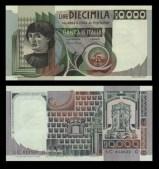 10.000 lire Ritratto d'uomo di Andrea del Castagno