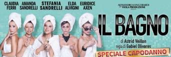 Il bagno, con Stefania Sandrelli e Amanda Sandrelli: serata speciale di Capodanno il 31 dicembre 2015 al Sala Umberto