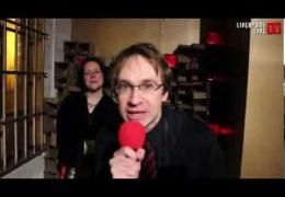 Liverpool Live TV at Threshold 2012 – Geoffrey Bumfries interviews Robyn Woolston