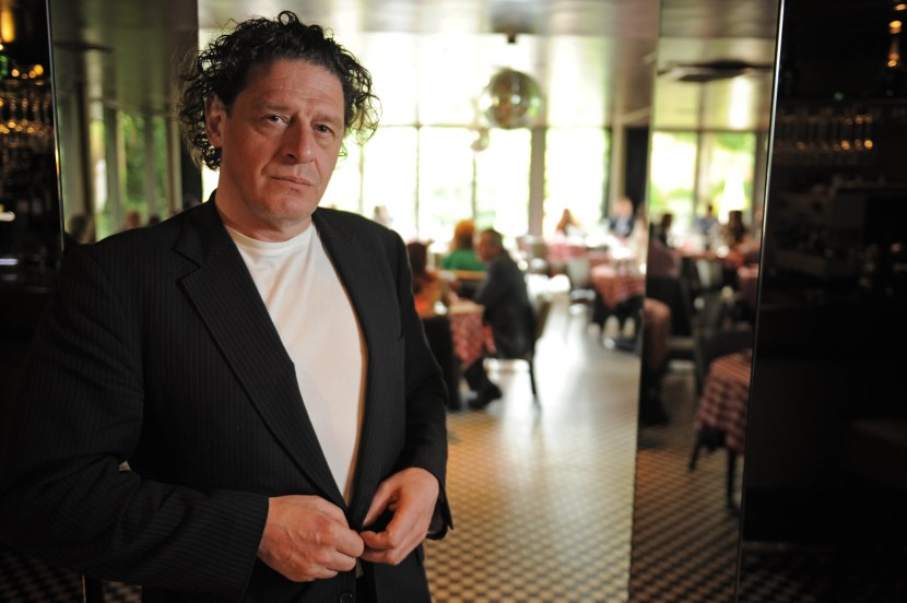 Marco Pierre White at Frankies