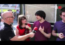 LLTV talk to The Mono Lps at Mathew Street Festival 2012