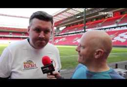 LLTV at the Hillsborough to Anfield Run 2013 – the final few yards