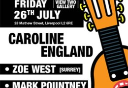 Caroline England single launch, View Two Gallery, 26 July 2013