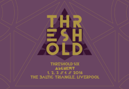 NEWS: Threshold Announce First Six Acts For 2016 Festival