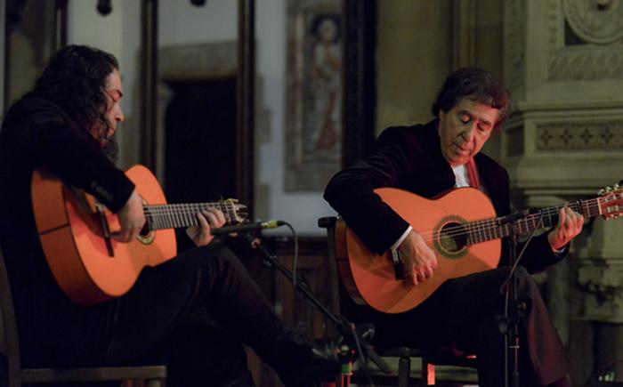 SHOUT: Juan Martin & Chaparro de Málaga | Capstone Theatre | 09.05.15