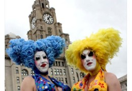 Record Crowds Pack in to Pier Head for Liverpool Pride 2011