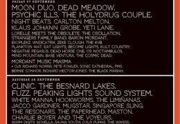 Liverpool Psych Festival, Camp & Furnace, 27-28 Sep