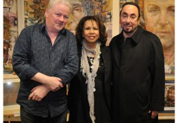NEWS: Liverpool artist Anthony Brown's latest work commissioned by celebrity David Gest