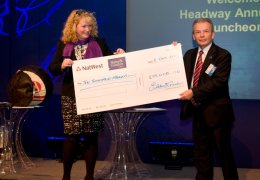 NEWS: Fundraising firm's efforts lead to £10,000 donation to brain injury charity Hedway