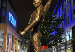 15ft Freddie Mercury Statue takes up Residence in Liverpool ONE