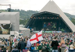 Win a pair of Glastonbury Tickets including train travel from the North West