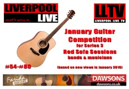 Red Sofa Sessions Series 3: January Guitar Competiton