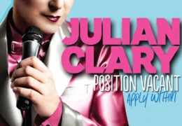 NEWS: Julian Clary to perform at the Royal Court in May