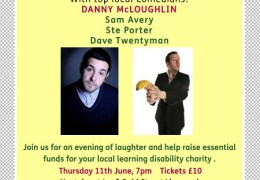 WHATS ON: Mencap Liverpool Comedy Night | Leaf Bold St | 11.06.15