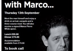 NEWS: Are you good enough to cook for Marco Pierre White?