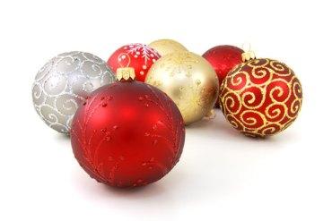 Festive baubles