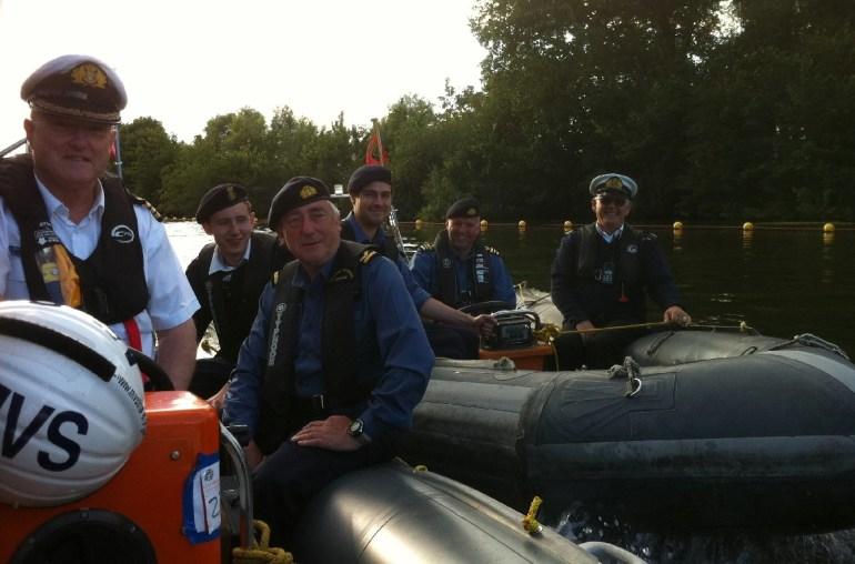 Maritime volunteers rib crews