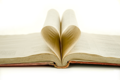 Thinkstock - love heart book