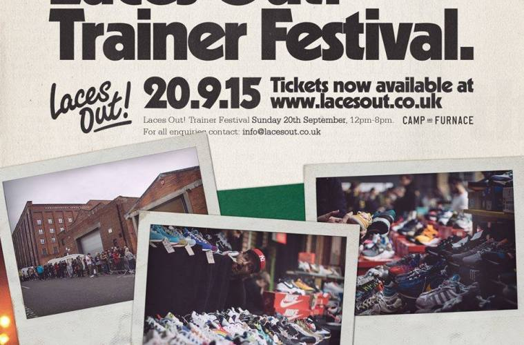 Calling All Trainer Fanatics! Laces Out Festival Returns To Camp & Furnace 20th September