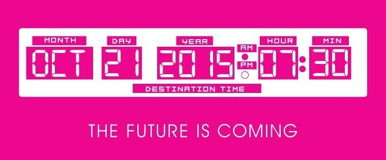 Hey McFly! Back To The Future Exhibition At Constellations To Celebrate Future Day 21st October 1